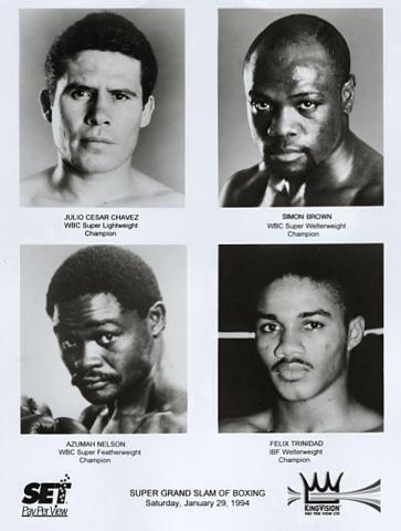 Super Grand Slam of Boxing Promo Print