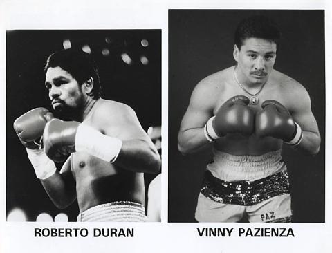 Roberto Duran Promo Print