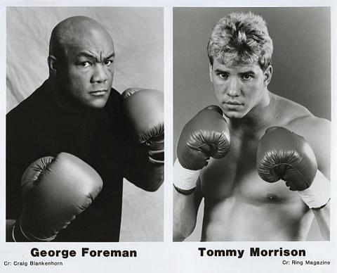 George Foreman Promo Print