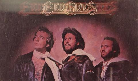 Bee Gees Postcard