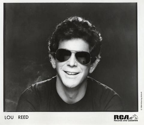 Lou Reed Promo Print