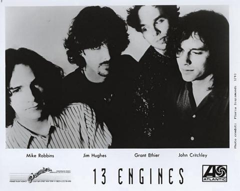 13 Engines Promo Print