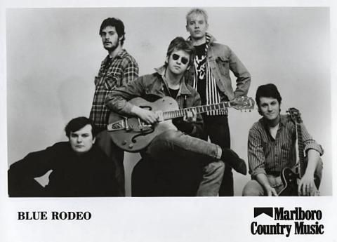 Blue Rodeo Promo Print