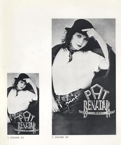 Pat Benatar Promo Print