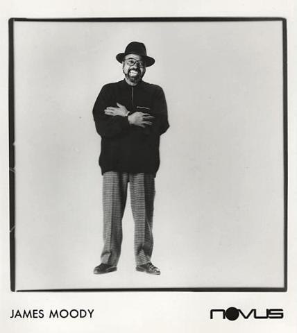 James Moody Promo Print