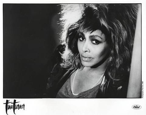 Tina Turner Promo Print