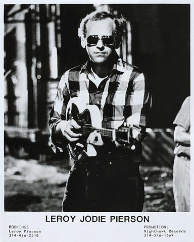 Leroy Jodie Pierson Promo Print
