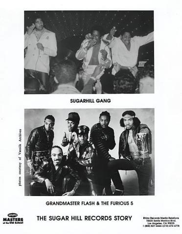 Grandmaster Flash & the Furious Five Promo Print