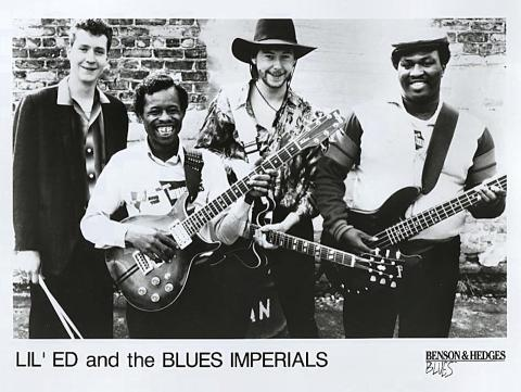 Lil' Ed and The Blues Imperials Promo Print