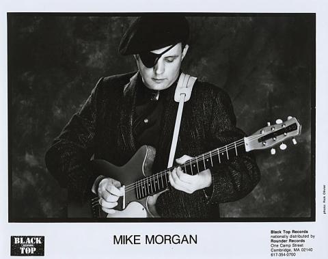 Mike Morgan Promo Print