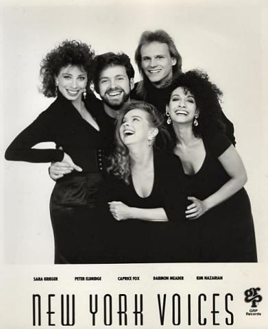 New York Voices Promo Print