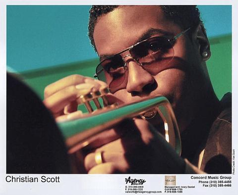 Christian Scott Promo Print