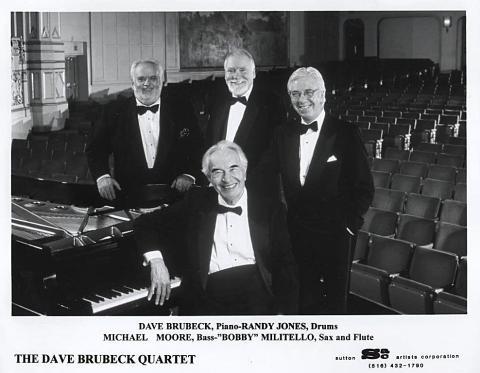 The Dave Brubeck Quartet Promo Print