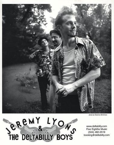 Jeremy Lyons & The Deltabilly Boys Promo Print
