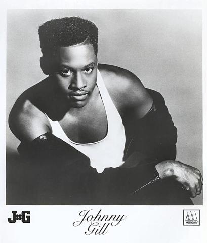 Johnny Gill Promo Print