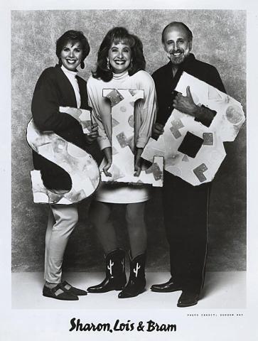Sharon, Lois and Bram Promo Print