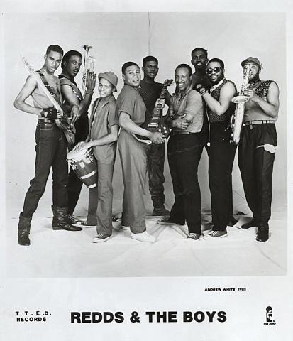 Redds & The Boys Promo Print