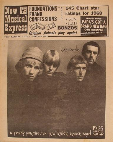 New Musical Express Magazine January 4, 1969