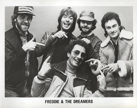 Freddie and the Dreamersx Promo Print