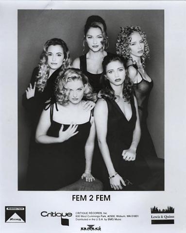 Fem 2 Fem Promo Print