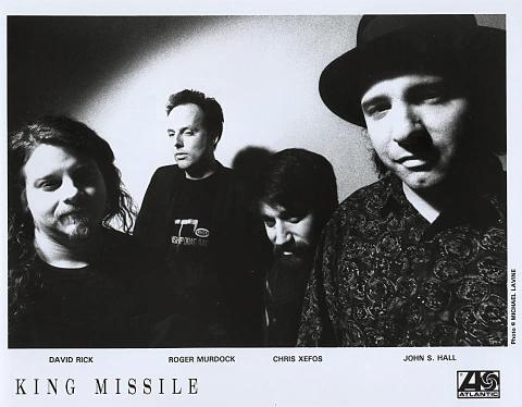 King Missile Promo Print