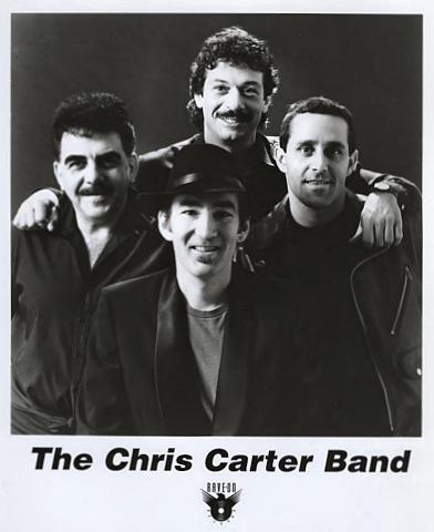 The Chris Carter Band Promo Print