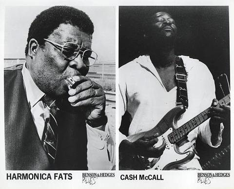 Harmonica Fats Promo Print