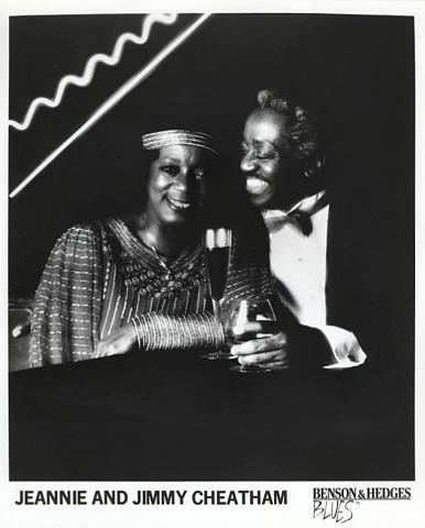 Jeannie and Jimmy Cheatham Promo Print
