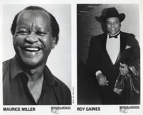 Maurice Miller Promo Print