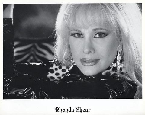 Rhonda Shear Promo Print