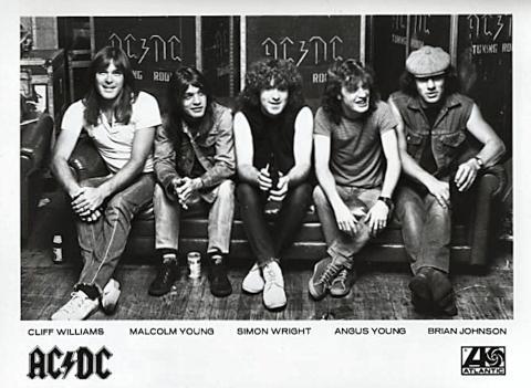 AC/DC Promo Print