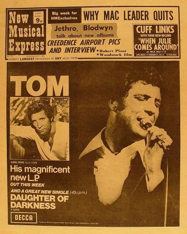 New Musical Express Magazine April 11, 1970