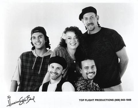 The Hawaiian Style Band Promo Print