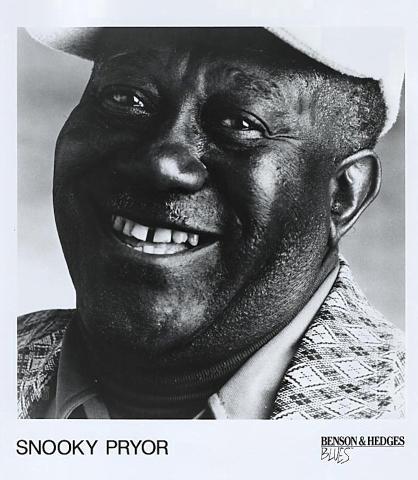 Snooky Pryor Promo Print