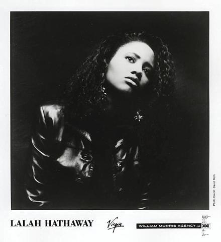 Lalah Hathaway Promo Print