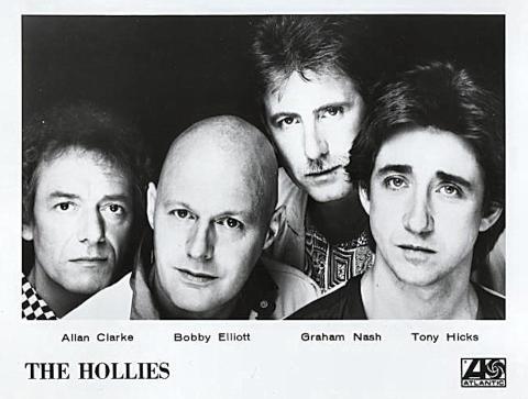 The Hollies Promo Print