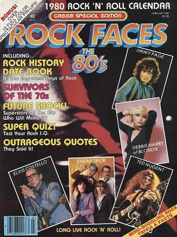 Creem: Rock Faces The 80's