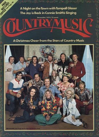Country Music Magazine December 1973