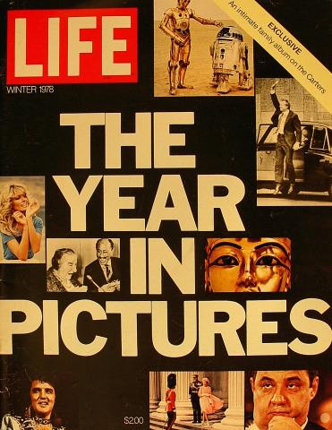 LIFE Magazine Winter 1978 Special Report - The Year In Pictures 1978