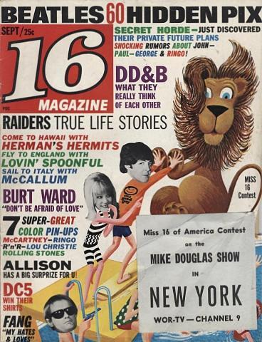 16 Magazine September 1966