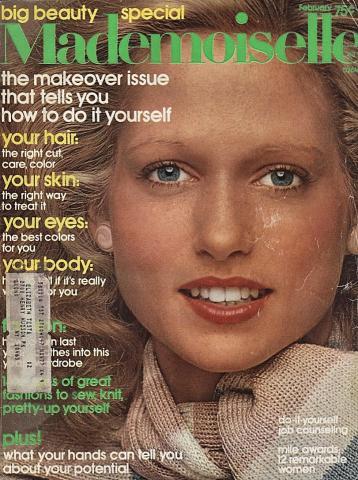 Mademoiselle February 1975