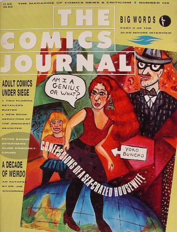 Fantagraphics: The Comics Journal #139