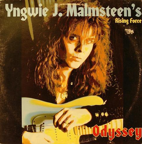 "Yngwie J. Malmsteen's Rising Force Vinyl 12"""