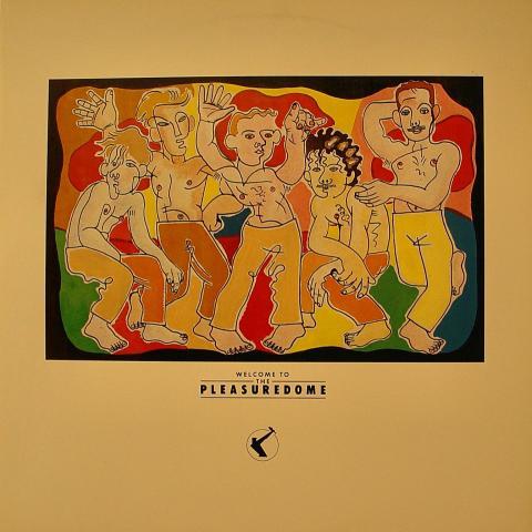 "Frankie Goes to Hollywood Vinyl 12"""