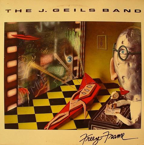 """J. Geils Band Vinyl 12"""""""