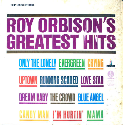 "Roy Orbison Vinyl 12"" (Used)"