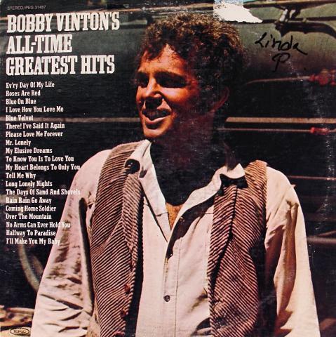 """Bobby Vinton Vinyl 12"""""""