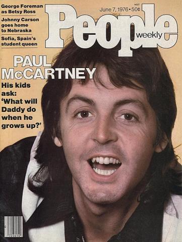 People Magazine June 7, 1976