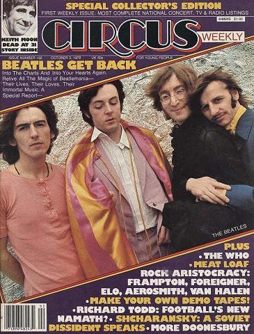 Circus Magazine October 3, 1978