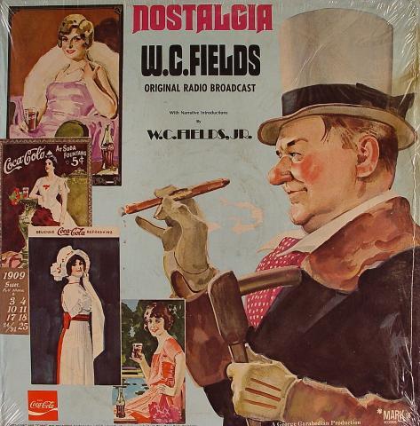 "Nostalgia W.C. Fields Original Radio Broadcast Vinyl 12"""